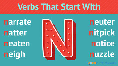 Verbs That Start With N
