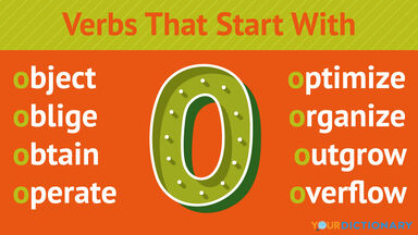 Verbs That Start With O