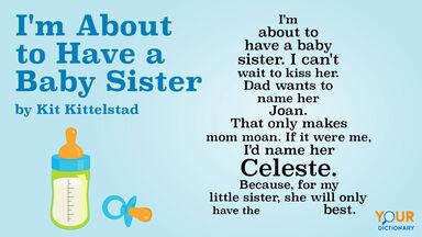 baby sister shape poem