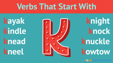 Verbs That Start With K