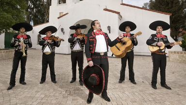 Mariachi band music from Mexico