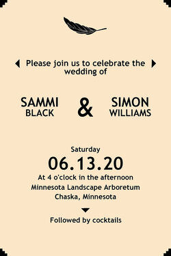 Modern Wedding Invitation Wording Examples