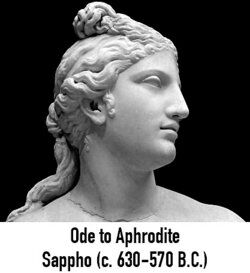 Aphrodite statue as poetry examples of odes