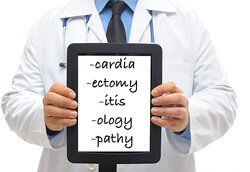 Medical Suffix Meanings