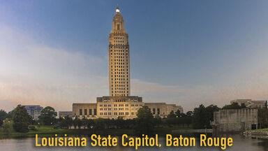 Louisiana State Capitol, Baton Rouge 2018