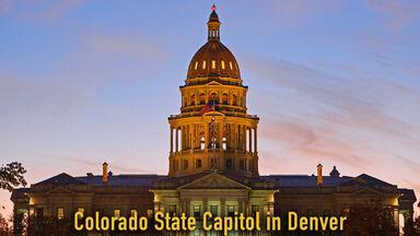 Colorado State Capitol in Denver 2018
