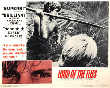 Lord Of The Flies lobby card 1963