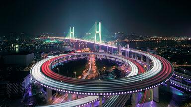 example of dystopia futuristic city