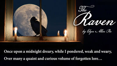 poem The Raven Edgar Allan Poe