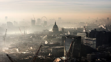 air pollution in london