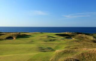 The fifth hole at Royal Portrush