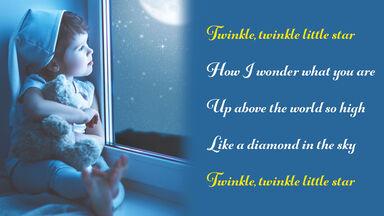 refrain example twinkle, twinkle little star