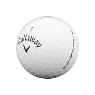Callaway white Chrome Soft X LS golf ball
