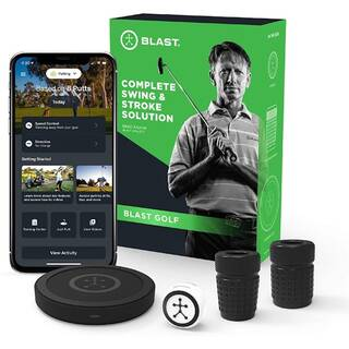 Blast motion golf swing analyzer