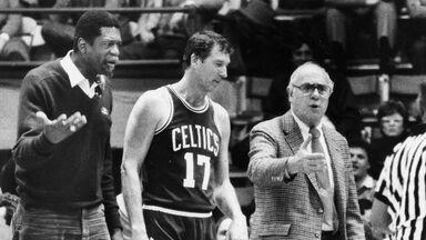 Boston Celtics coach Bill Russell