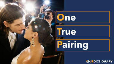 Paparazzi Taking Pictures of Kissing Couple OTP Abbreviation Explained
