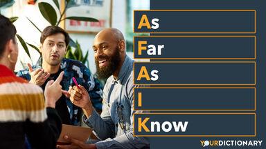 Group Sharing Ideas AFAIK Abbreviation Explained
