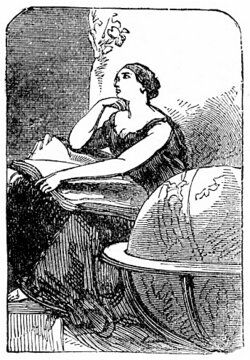 sketch of Hypatia of Alexandria