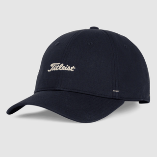 Titleist leather and canvas hat