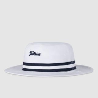 Titleist cotton strip bucket hat