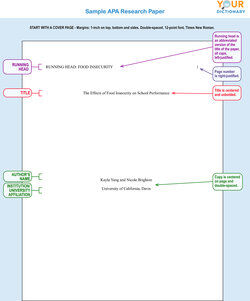 Basic Research Paper Format Examples