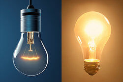 Bright and Brighter Light Bulbs