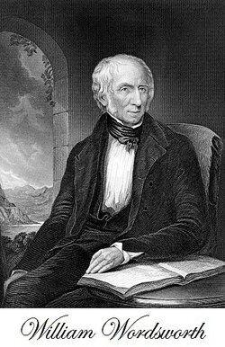 portrait of poet William Wordsworth