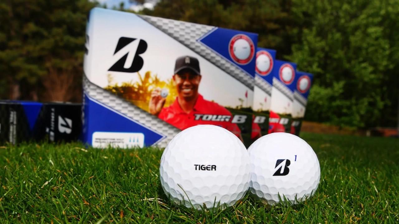 Bridgestone Ball Tour B Tiger Woods
