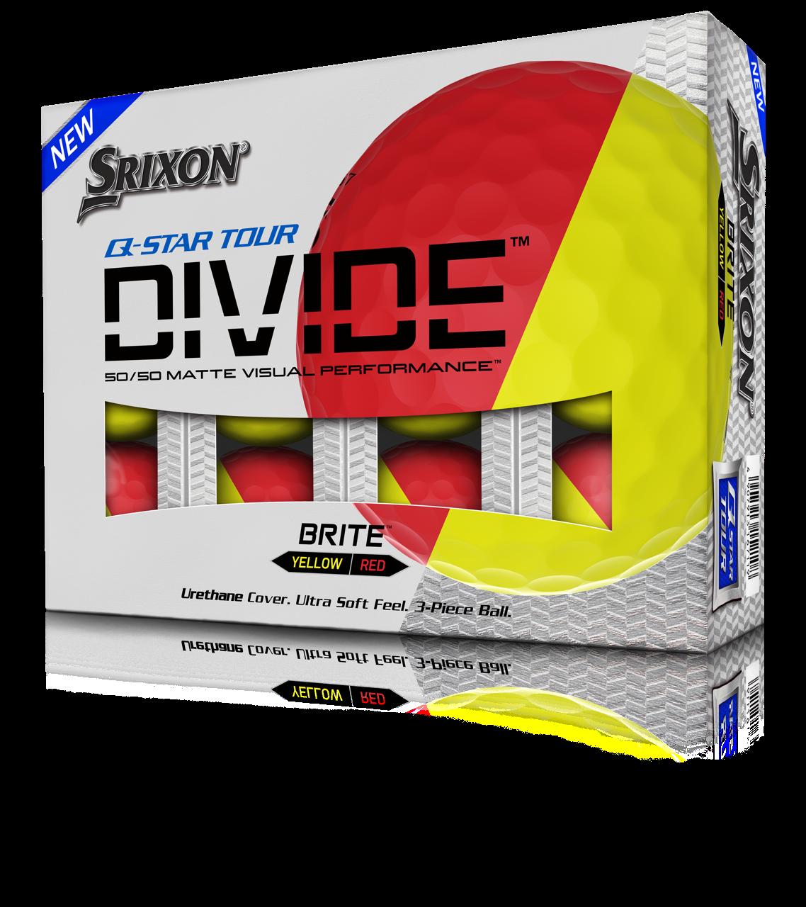 Srixon Q-STAR TOUR DIVIDE boxed dozen