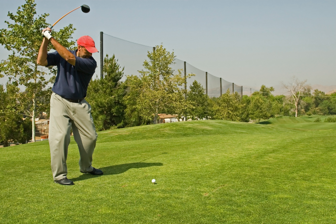 golf swing flexible graphite shaft