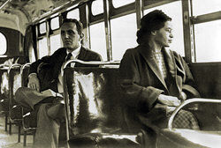 Rosa Parks, Montgomery, Alabama, 1956.