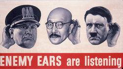 Benito Mussolini, Hideki Tojo and Adolf Hitler