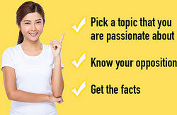 Pointing out tips for writing better essays