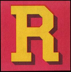 capital letter r