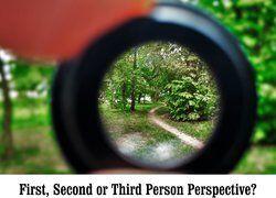 Perspective through a camera lens