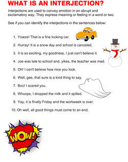 what is an interjection questions
