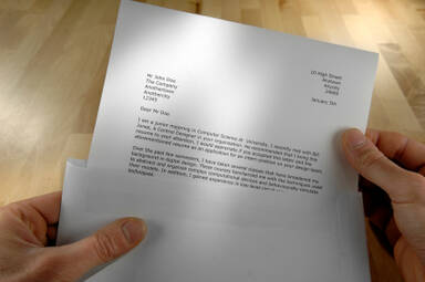 How to write a latter correct format to write a memo