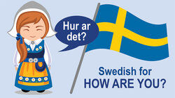 How are you? in Swedish language