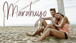 Couple on beach Marahuyo