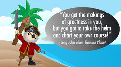 Motivational Pirate Quote
