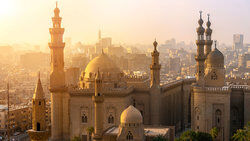 Egyptian Mosques of Sultan Hassan and Al-Rifai