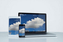 laptop and mobile devices