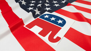 gop elephant logo