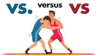 vs. versus vs