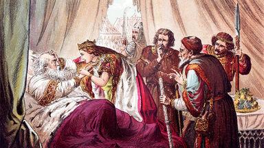 Shakespeare's King Lear engraving