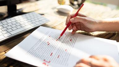 correcting essay for error-free writing