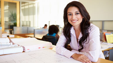 professional biography for woman architect