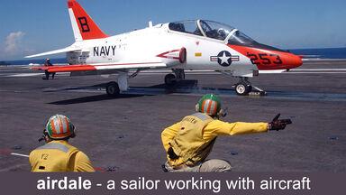 airdale is navy slang