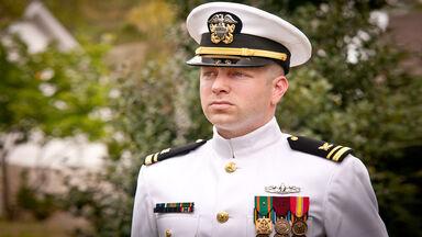 us navy officer in uniform