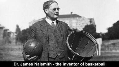 dr. james naismith the inventor of basketball